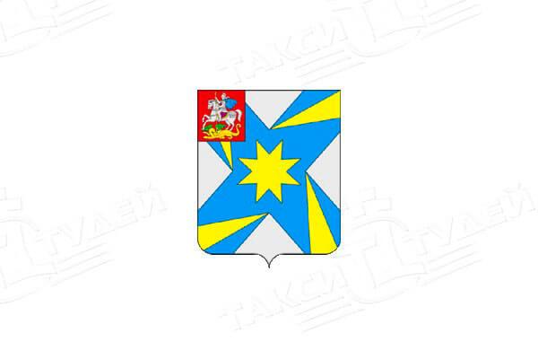 герб поселка Андреевка. Заказать такси в Андреевку