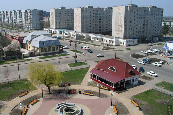 Белореченск. Такси из Москвы в населенный пункт Белореченск