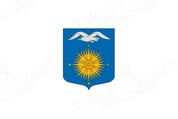 герб населенного пункта Большая Ижора. Заказать такси в Большую Ижору
