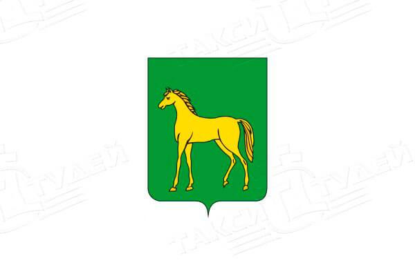 герб города Бронницы. Заказать такси в Бронницы