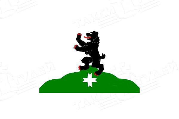флаг поселка Бугры. Заказать такси в Бугры