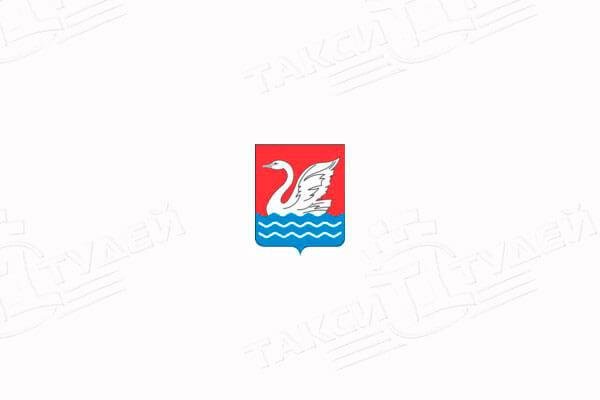 герб города Долгопрудный. Заказать такси в Долгопрудный