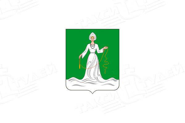 герб города Дрезна. Заказать такси в Дрезну
