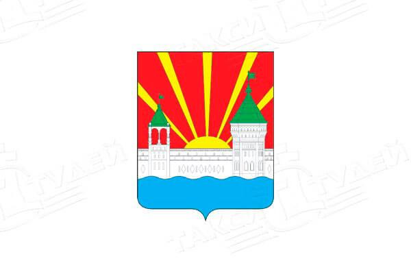 герб города Дзержинский. Заказать такси в Дзержинский