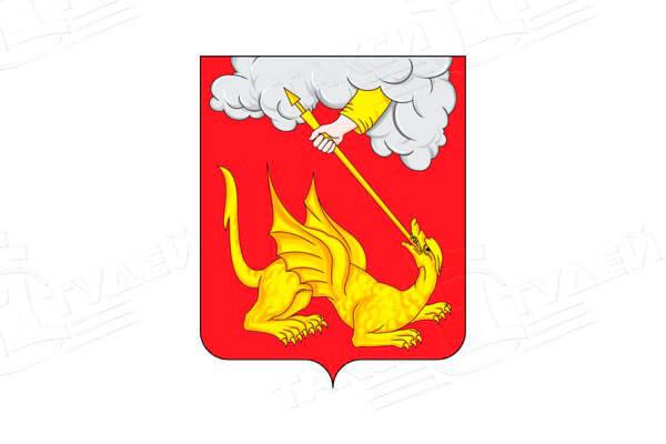 герб города Егорьевска. Заказать такси в Егорьевск