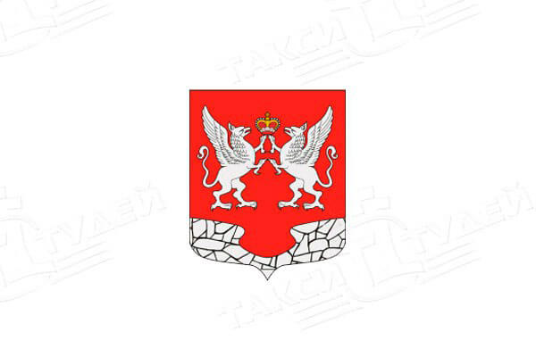Елизаветино: герб. Елизаветино - заказать такси