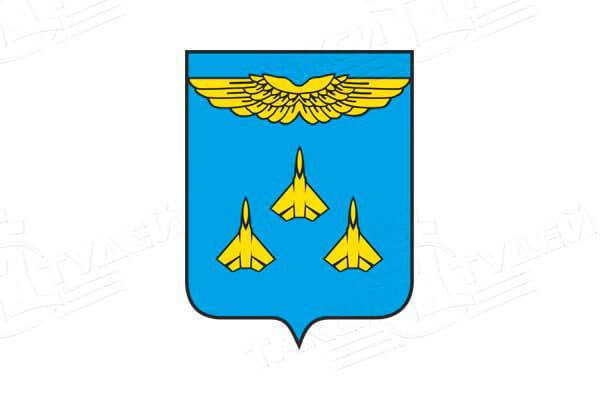герб города Жуковский. Заказать такси в Жуковский