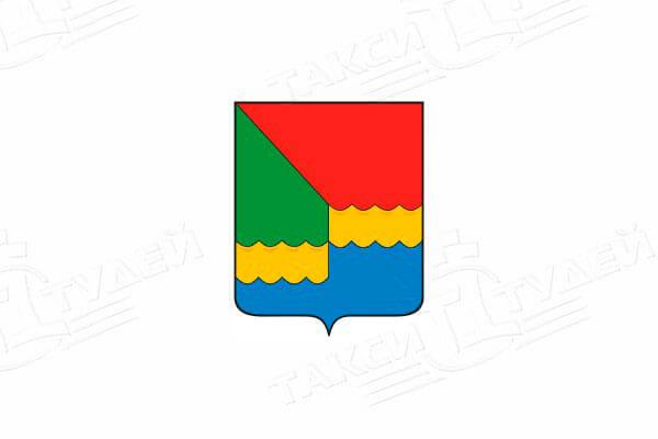 герб города Икша. Заказать такси в Икшу