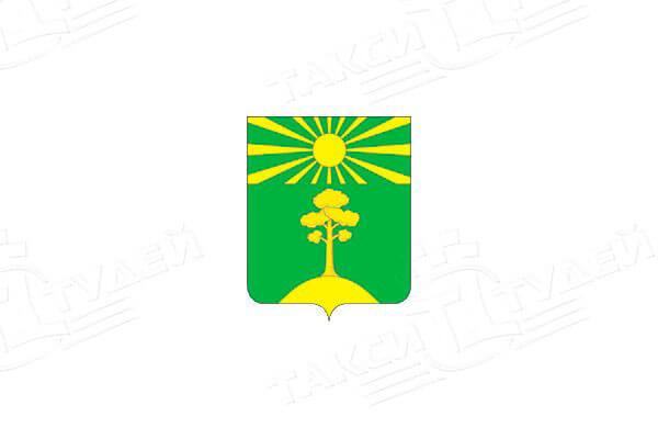 герб города Ильинский. Заказать такси в Ильинский