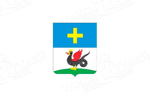 герб города Кашира. Заказать такси в Каширу