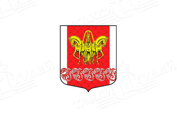 Кисельню: герб. Кисельню - заказать такси