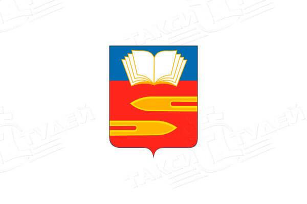 герб города Климовск. Заказать такси в Климовск