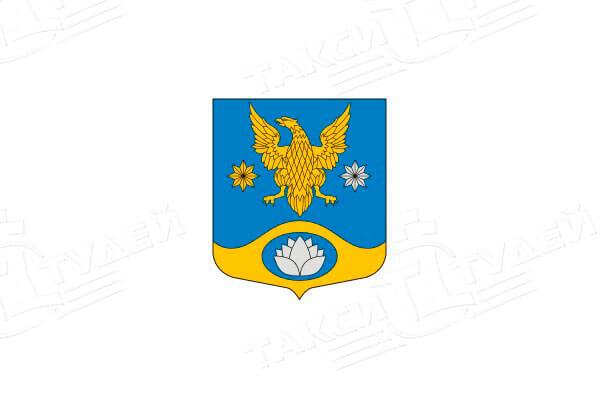 герб деревни Колтуши. Заказать такси в Колтуши