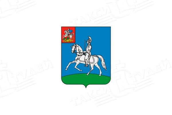 герб города Кубинка. Заказать такси в Кубинку