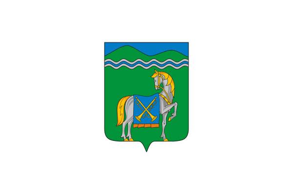 Курганинск: герб. Курганинск - заказать такси