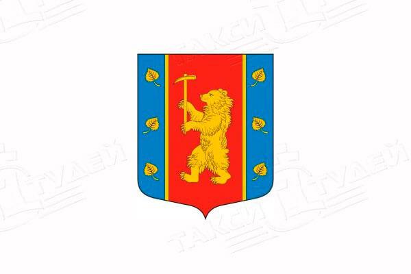 герб поселка Кузнечное. Заказать такси в Кузнечное