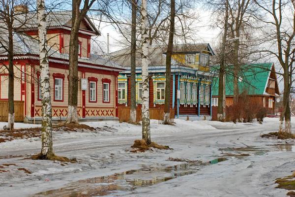 Любим. Такси из Москвы в населенный пункт Любим