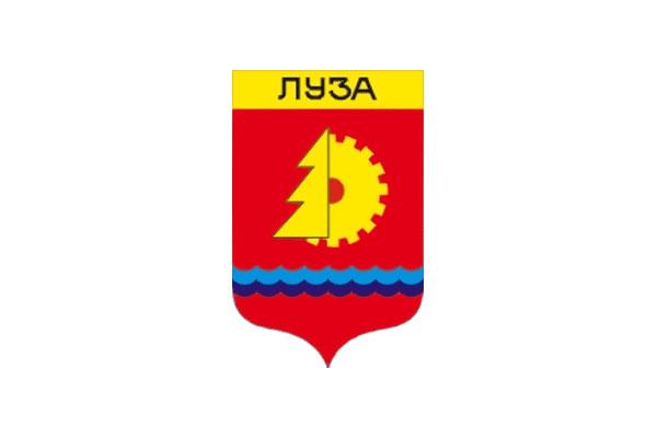 Луза: герб. Луза - заказать такси
