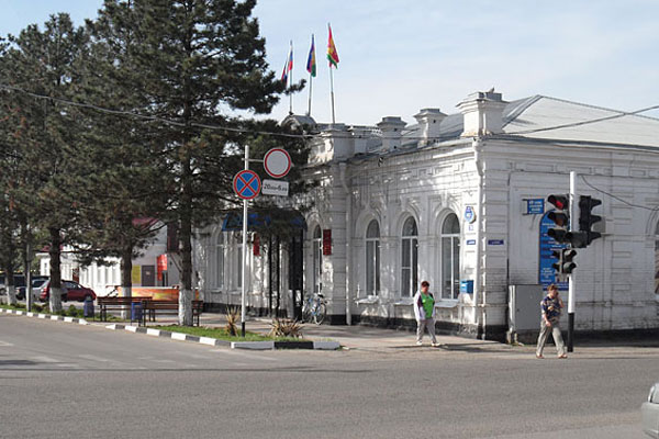 Новотитаровская. Такси из МСК в населенный пункт Новотитаровская