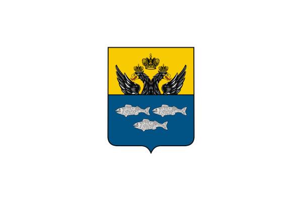 Осташков: герб. Осташков - заказать такси