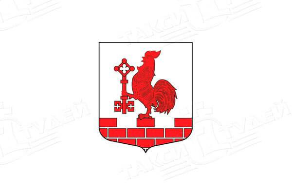 герб поселка Первомайское. Заказать такси в Первомайское
