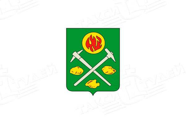 Пикалёво: герб. Пикалёво - заказать такси