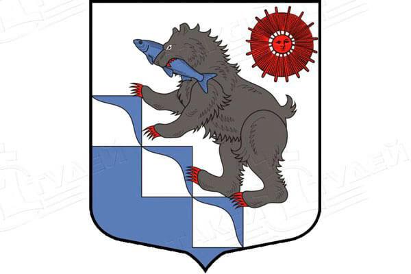 герб города Подпорожье. Заказать такси в Подпорожье