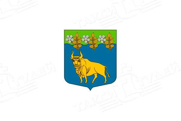 герб поселка Поляны. Заказать такси в Поляны
