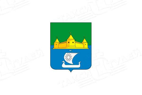 герб Посёлка имени Морозова. Заказать такси в Посёлок имени Морозова