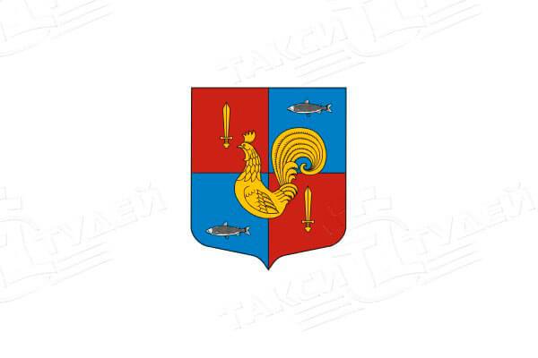 герб поселка Приладожский. Заказать такси в Приладожский