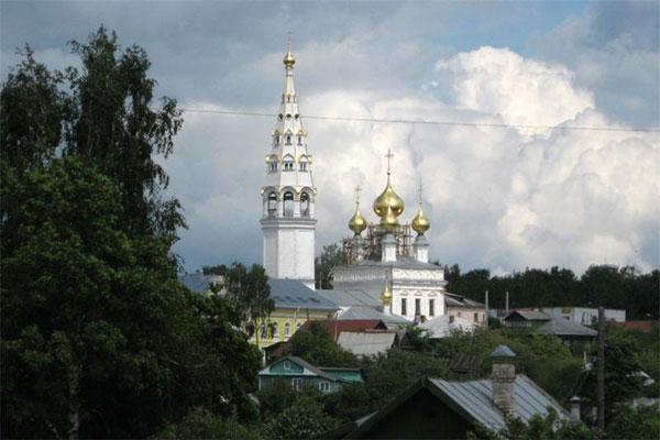 Приволжск. Такси из СПб в населенный пункт Приволжск