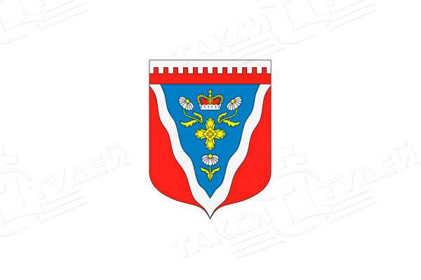 герб поселка Ромашки. Заказать такси в Ромашки