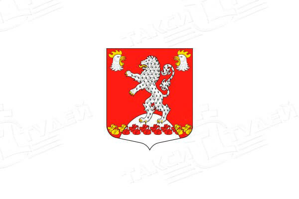 герб села Русско-Высоцкое. Заказать такси в Русско-Высоцкое