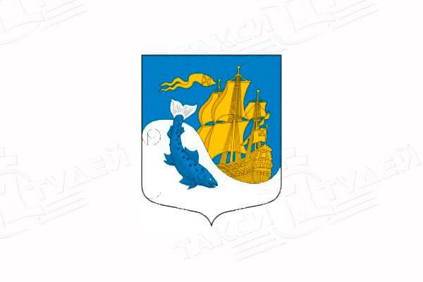 герб города Сясьстрой. Заказать такси в Сясьстрой