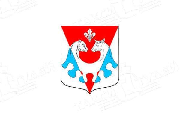 герб поселка Сельцо. Заказать такси в Сельцо