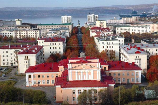 Североморск. Такси из Москвы в населенный пункт Североморск