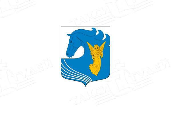 герб поселка Сиверский. Заказать такси в Сиверский