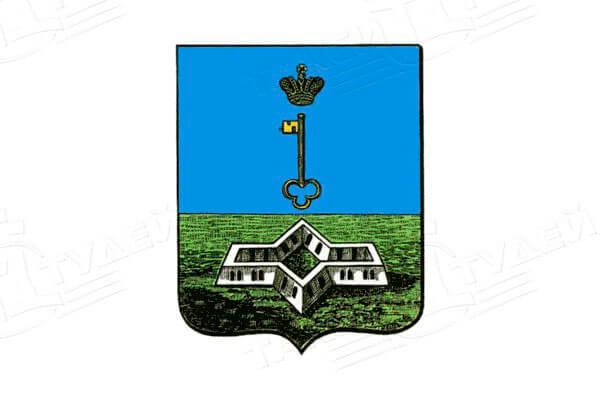 герб города Шлиссельбург. Заказать такси в Шлиссельбург
