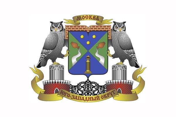 ЮЗАО: герб. ЮЗАО - заказать такси