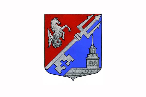Василеостровский район: герб. Заказать такси в Василеостровский район