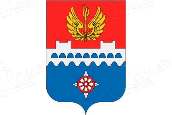 герб города Волхов. Заказать такси в Волхов
