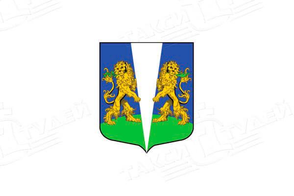 герб деревни Заклинье. Заказать такси в Заклинье