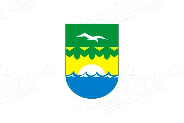 герб города Зеленогорск. Заказать такси в Зеленогорск