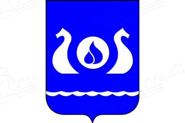герб города Кириши. Заказать такси в Кириши