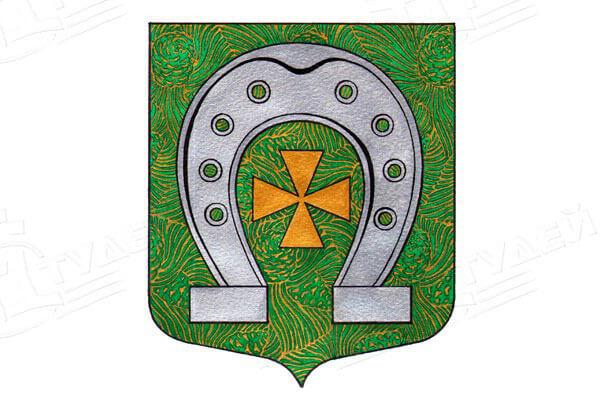 герб поселка Красносельское. Заказать такси в Красносельское