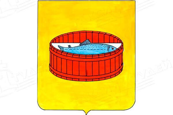герб города Луга. Заказать такси в Лугу