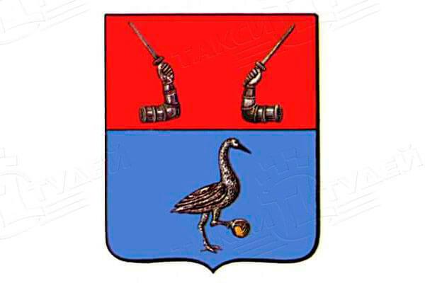 герб города Приозерск. Заказать такси в Приозерск