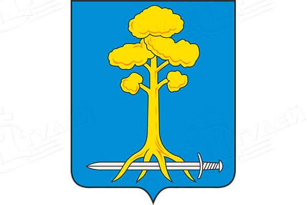 герб города Сертолово. Заказать такси в Сертолово