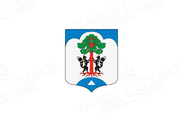 герб поселка Сосново. Заказать такси в Сосново