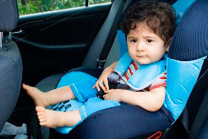 Такси с детским автокреслом